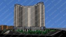 Высотные жилые дома г.Гостомель