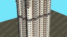 Высотные жилые дома г.Киев Дарницкий бульвар